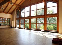 Yogaraum: bis 50 Personen